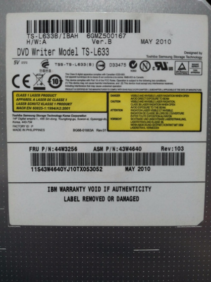 Ibm Dvd-writer Optical Drive Para Ibm X3550 M2 / X3650