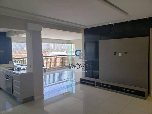 Imagem 1 de 26 de Apartamento Com 3 Dormitórios À Venda, 105 M² Por R$ 940.000,00 - Anália Franco - São Paulo/sp - Ap7469