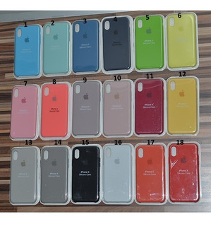 Estuche Funda Silicona Original iPhone 5 6 6s 7 8 Plus X