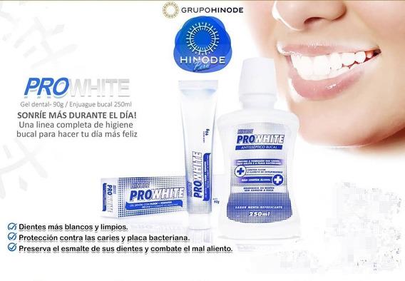Crema Dental Y Enjuague Bucal Hinode