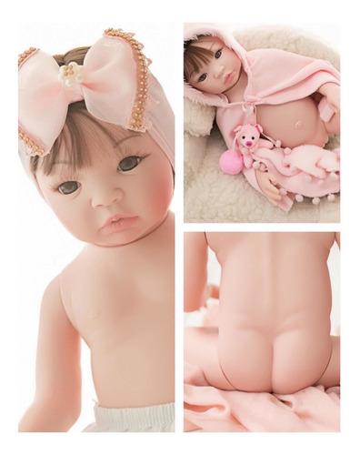 Imagem 1 de 9 de Bebê Reborn Barata Promoção Mamadeira Chupeta - 17 Itens
