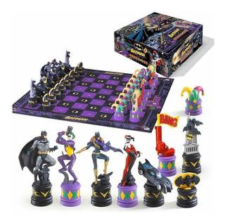 Ajedrez De Batman Va Joker, Nuevo, Edición De Lujo