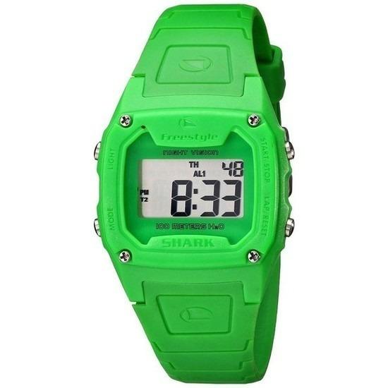 Relógio Freestyle Shark Classic Verde Silicone Importado H20