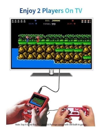 Mini Game Retro 400 Jogos 2 Controles Jogue Na Tv Frete Off