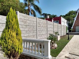 Cerco Premoldeado Hormigon Reforzado Medianera Muro Premium
