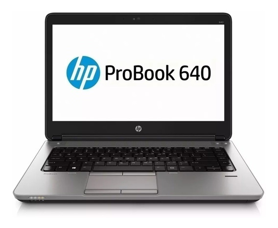 Notebook Hp Probook 640 G1 I5 4ª 4gb 500gb Recertificado