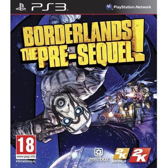 Jogo Mídia Física Borderlands The Pre Sequel Para Ps3