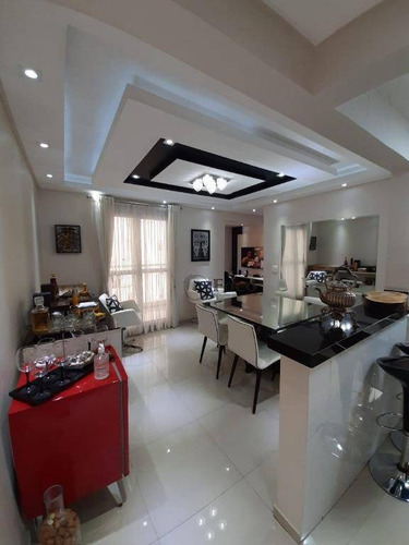 Lindo Apartamento Com 67 M², Planta De 3 Dormitórios, Sendo Uma Suíte; Udo De Um Dormitório Para Sala Estendida; Varanda Gourmet - Ap1050