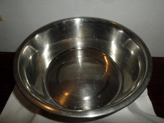 Comedero Para Perros Ac Inox Alto 10cm Diam 28cm Cap - 4 Lts