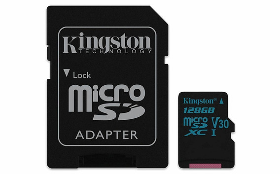 Kingston Technology Canvas Go! 128gb Microsdxc Uhs-i Class 1