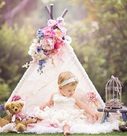 Mini Cabana Acessorios Fotográfico Newborn E Acompanhamento