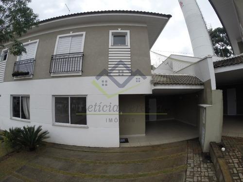 Casa De Condomínio Com 3 Dorms Sendo 01 Suíte,  À Venda, 103 M² Por R$ 750.000,00 - So00081 - 69343941
