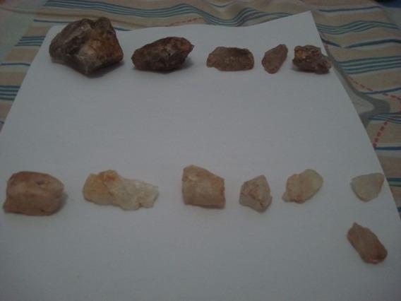 Coleção De 12 Pedras Naturais Energéticas