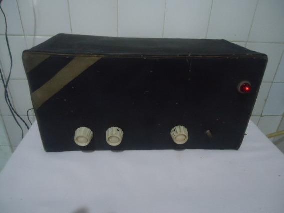 Antigo Rádio Valvulado - Funcionando - Frete Grátis