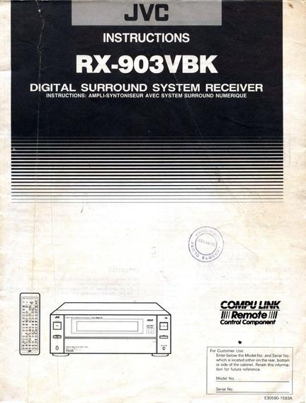 Manual Rx 903vbk - Pdf E Jpg