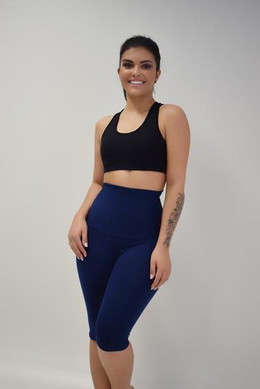 Bermuda Fitness Modeladora Suplex De Poliamida