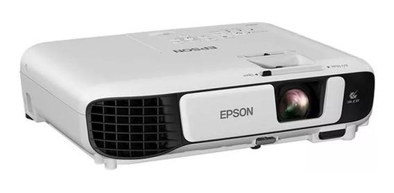 Projetor Epson Powerlite S41+ 3lcd 800x600 3300 Lumens