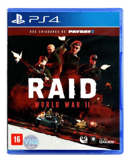 Raid World War Ii - Ps4 - Mídia Física - Novo - Lacrado