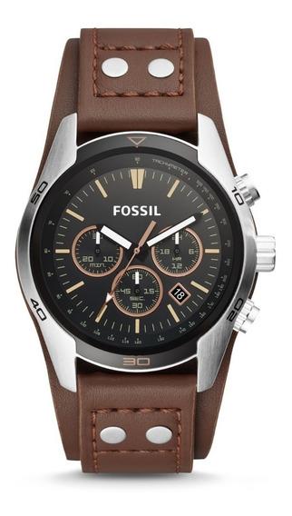 Reloj Fossil Coachman Ch2891 Original Caja Garantía Nuevo