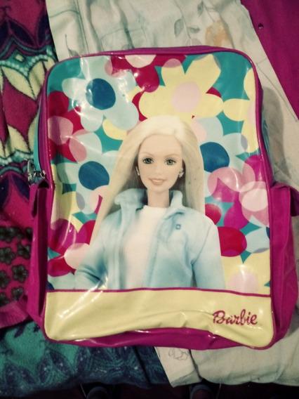 Mochila De Nena Barbie Vinilico Original