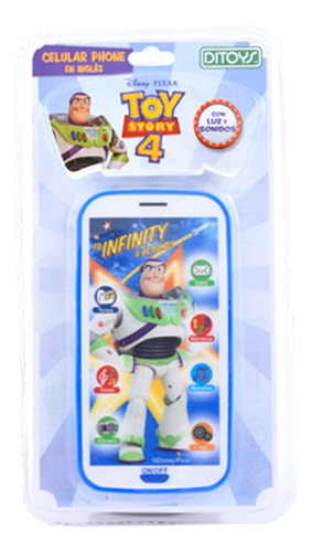 Imagen 1 de 1 de Celular Toy Story 4 Cuotas