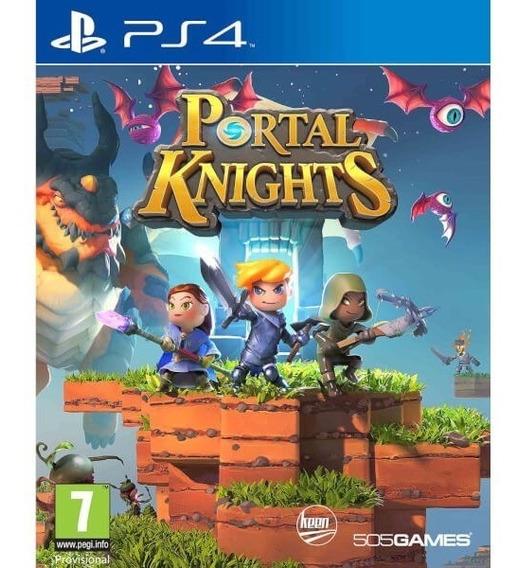 Jogo Mídia Física Portal Knights Original Para Ps4
