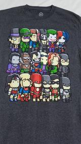 Playera Funko Superheroes Y Villanos Dc Comics Original