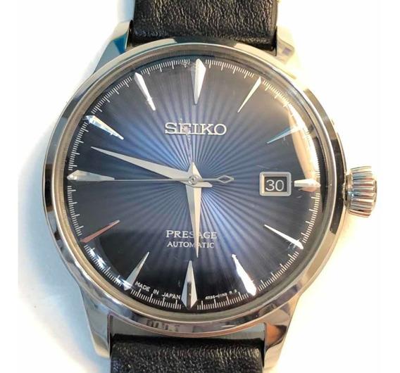 Relógio Seiko Presage Blue Moon Srpb41j1 Made In Japan Autom