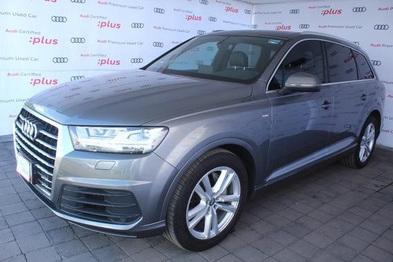 Audi Q7 S Line 3.0 Quattro Aut Gris 2017