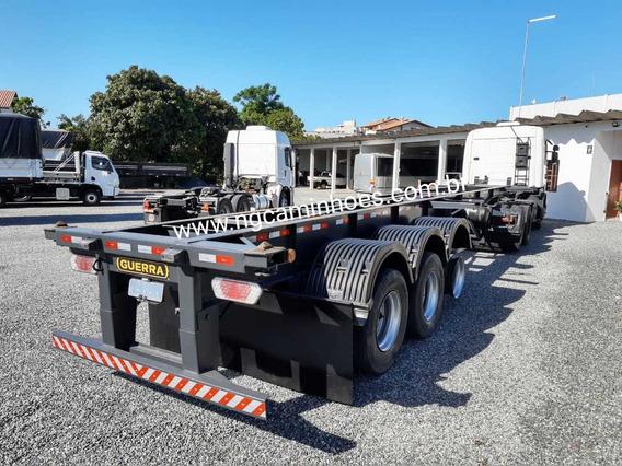Carreta Porta Container Guerra 2007 Conteiners - Bugue Bugao
