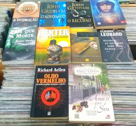 Pacote C/ 10 Livros De Literatura Estrangeira.