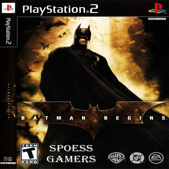 Batman Begins Ps2 Desbloqueado Patchs