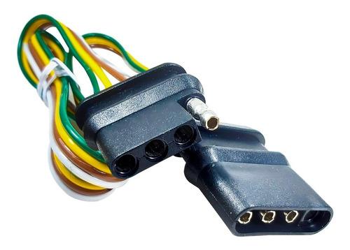 Conector Remolque 4 Vias