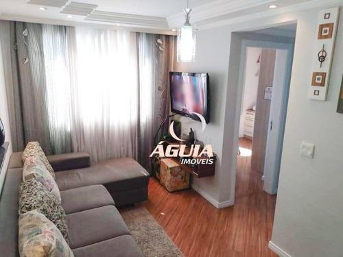 Apartamento Com 2 Dormitórios À Venda, 45 M² Por R$ 225.000 - Parque São Vicente - Mauá/sp - Ap2732