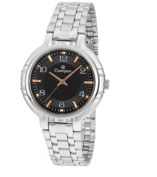 Relógio Champion Analógico Feminino Cn20444t Prata
