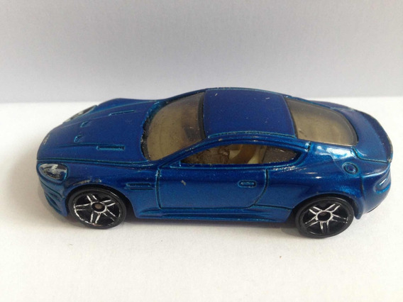 Hotwheels Aston Martin R6459-metal Flake. Azul-vn. Serie Año