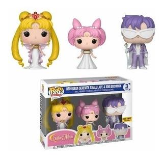 Muñeco Funko Pop Set Sailor Moon Queen Serenity Familia