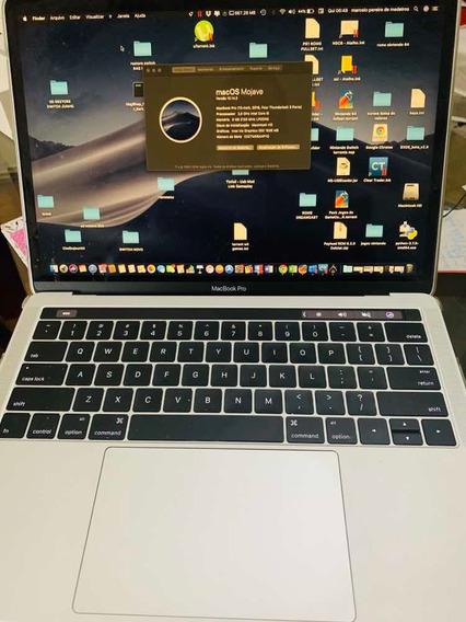 Macbook Pro Retina 13 Touchbar 8gb 512 Gb Seminovo C/ Case Caixa E Acessórios