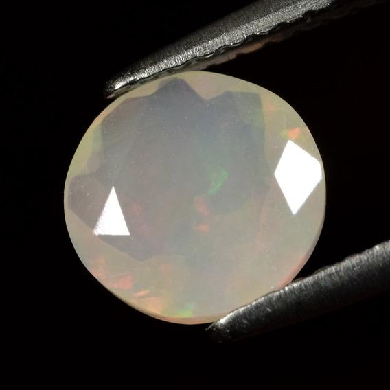Opalo Natural De Welo, Ethiopia 0,80ct- Circular 7.02mm