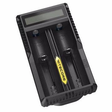 Carregador Nitecore Um20 Usb C/ Visor Lcd Bateria 18650