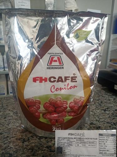 Imagem 1 de 2 de Fh Café Fertilizante Foliar Heringer Pacote Com 2kg