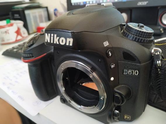 Camera Nikon D610 150k Cliques