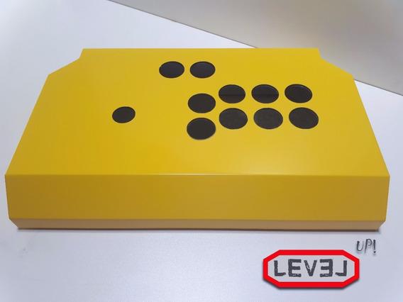 Controle Arcade Fliperama Acm Pc/ps3/ps4/rasp Level Up