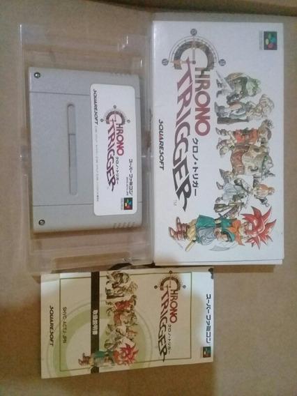 Chrono Trigger Para Super Famicom E Super Nintendo Cib