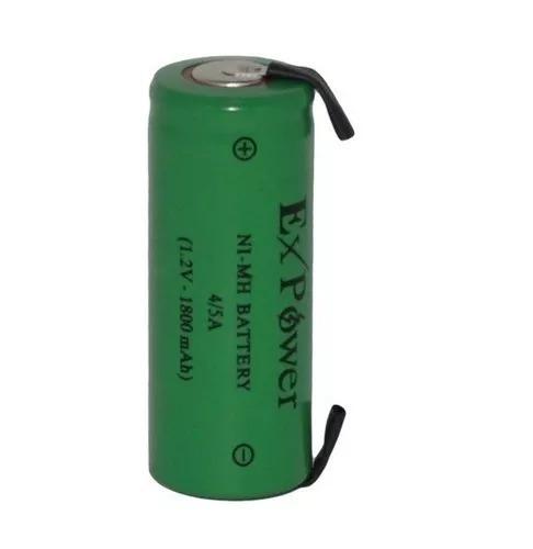Pilha Bateria Expower 4/5a 1,2v 1800mah Ni-mh Com 2 Terminal