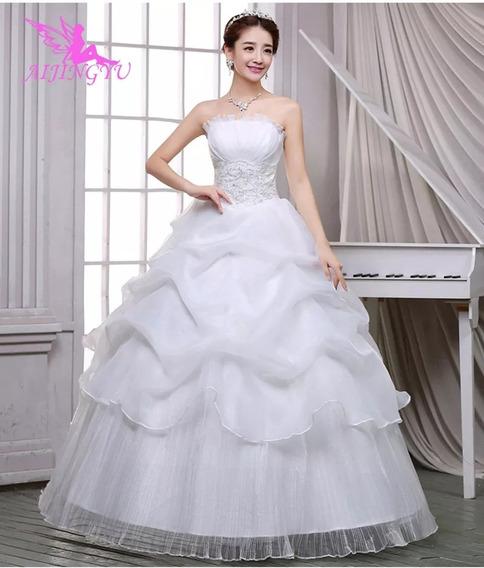 Vestidos De Novia, Color Blanco, Tallas De La 2 A La 22w