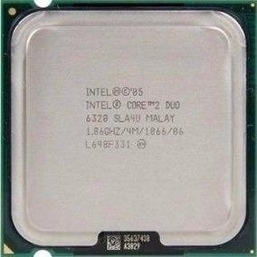Processador Intel Core 2 Duo E6320 1.86ghz 4mb 1066 775 ¨