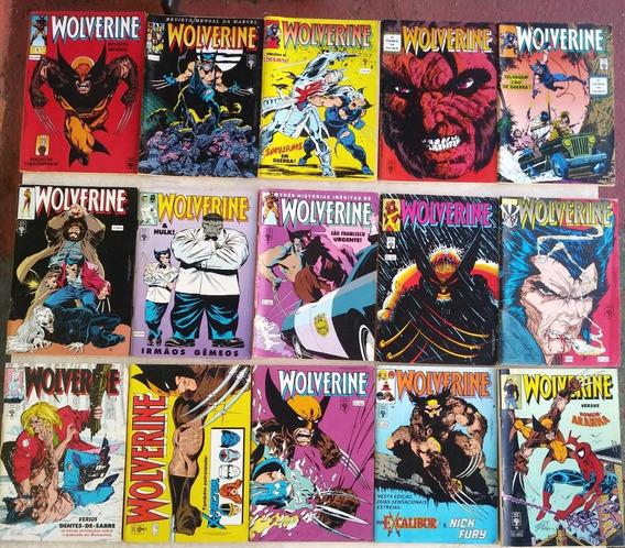 Wolverine 1992 Abril Formatinho Coleção Do 1 A 101 Hq Gibi