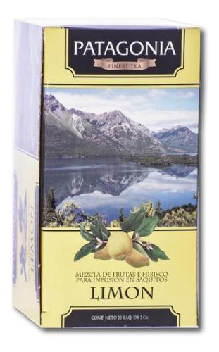 Imagen 1 de 2 de Te Patagonia Premium X 20 Saq. Limón