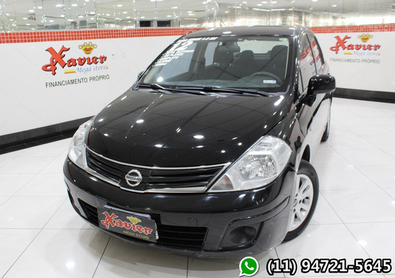 Nissan Tiida Sedan 1.8 2012 Flex Financiamento Próprio 8470